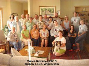 St. Mark's 2013 Choir Retreat