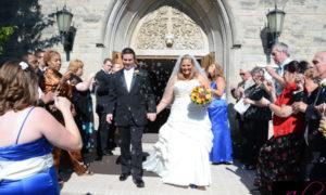 Fall Wedding, St. Mark's Episcopal Church, Glen Ellyn, Illinois